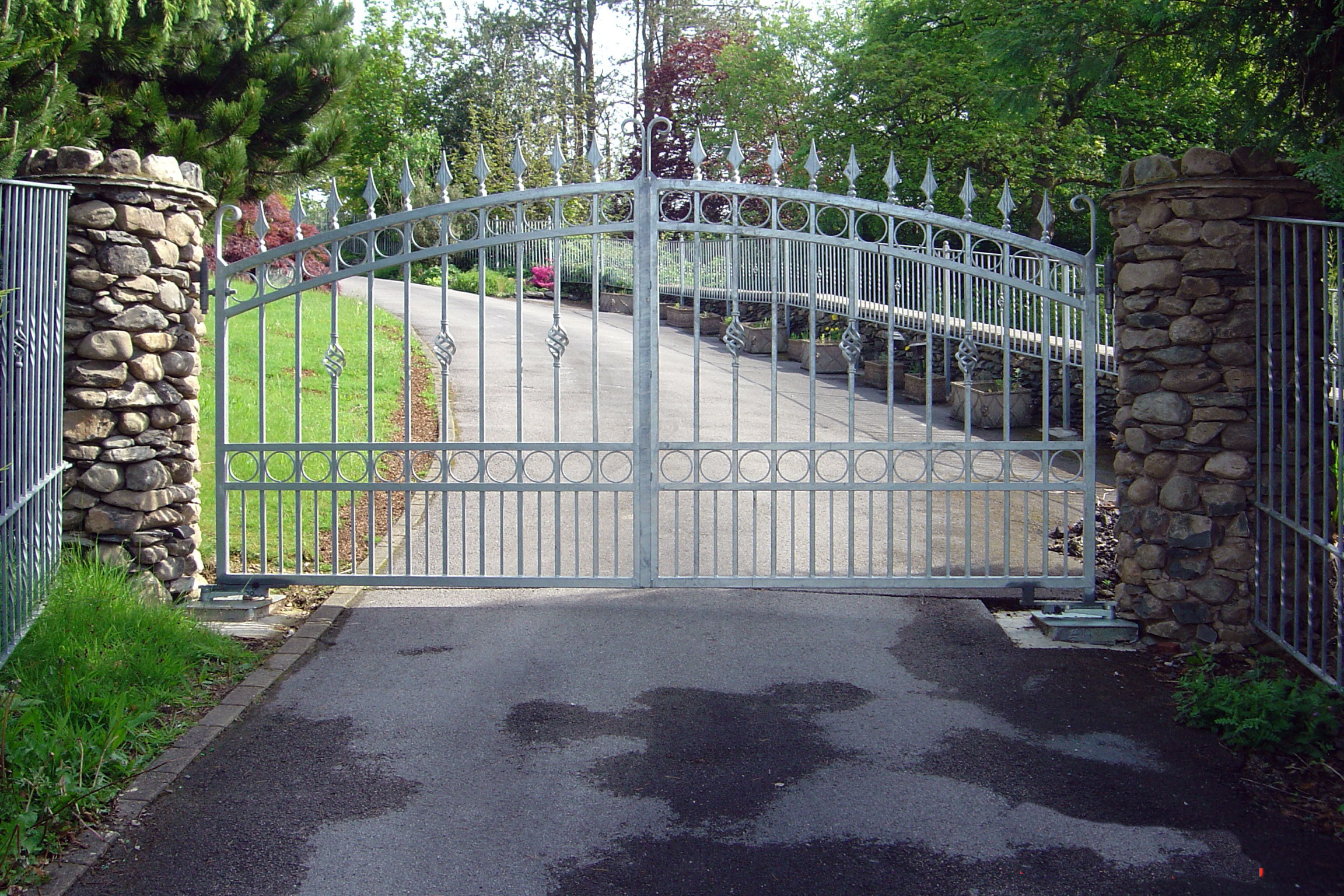 Wrought Iron Gates Gatepower Are Steel The Best
